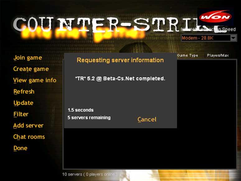 Playing Counter Strike Beta 61 Installing Counter Strike Betas